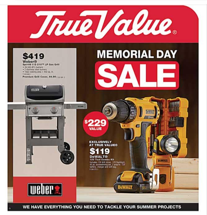 Junction True Value Memorial Day Sale