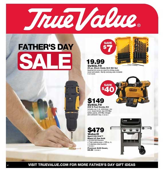 Junction True Value Father's Day sale