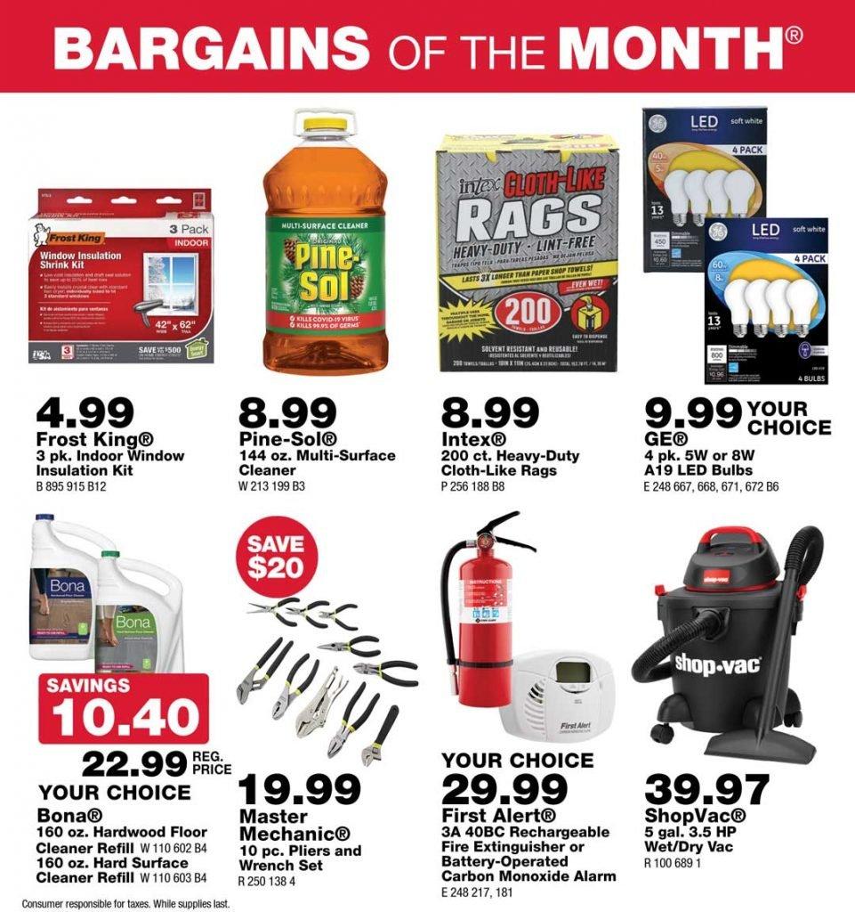 Junction True Value September Bargains of the Month